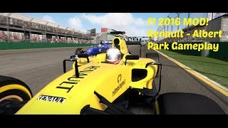 F1 2016 MOD: Australia - Renault Gameplay - 2016 Tracks, Cars and Drivers - PC Ultra 1080p60