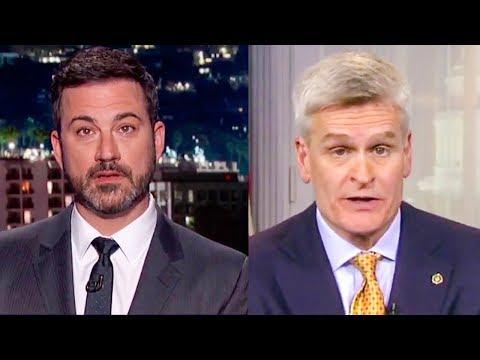 Bill Cassidy LIED To Jimmy Kimmel