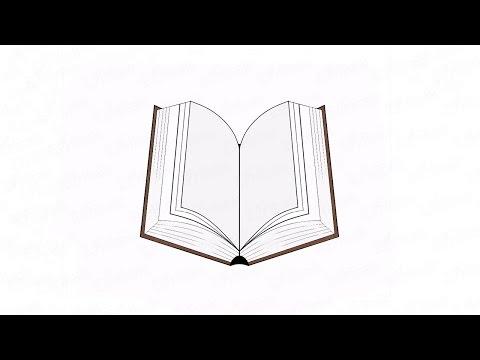 Как нарисовать легко книгу