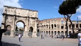 アキーラさん散策②イタリア・ローマ・コロッセオ,Colosseo,Rome,Italy