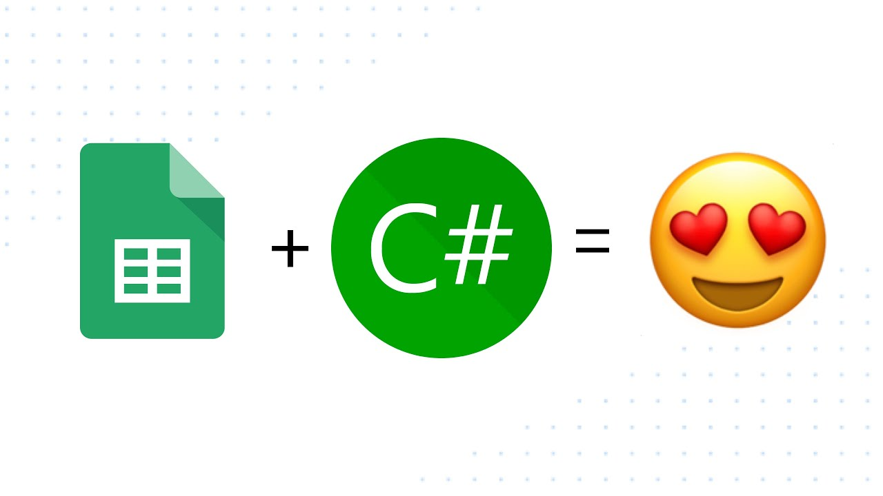 Google Sheets and  NET Core with C#