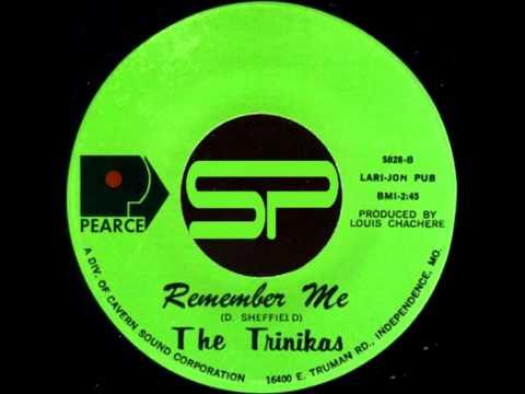 RARE SOUL 45t - THE TRINIKAS - Remember Me - 1972 Pearce