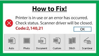 Canon scanner lide 120 | scanner is turned off | usb cable