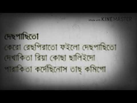 Despacito (caver)bangla lyrics