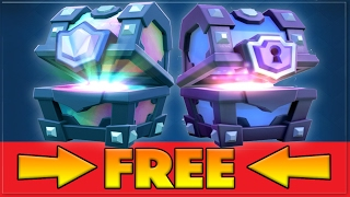 CLASH ROYALE FREE SUPER MAGICAL CHEST GLITCH!(NO HACK/NO JAILBREAK) *WORKING 2017*