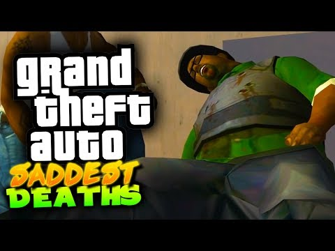 SADDEST DEATHS IN THE GRAND THEFT AUTO SERIES!