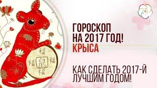 Китайский Гороскоп на 2017 год для КРЫСЫ. Гороскоп для крыса (мышь) на 2017 год/ Наталья Пугачева