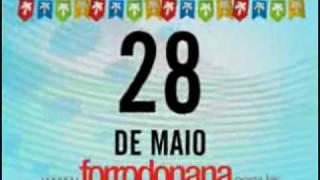 FORRO DA NANA  - 28/O5 - MACEIÓ - CENTRO DE CONVEÇÕES