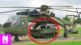 12 Gigantische Helikopter - die so wirklich existieren!!