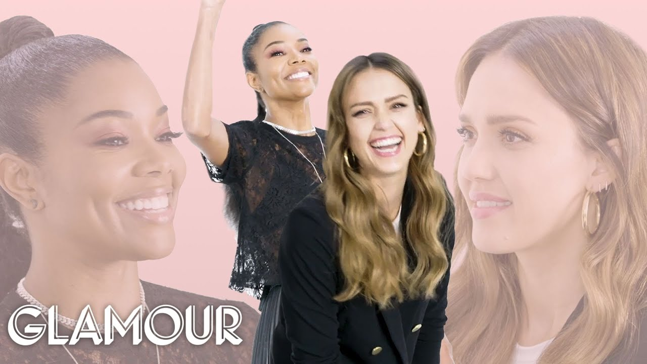 Jessica Alba and Gabrielle Union Take a Friendship Test | Glamour