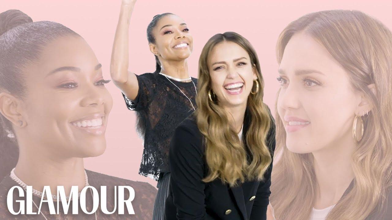 Jessica Alba and Gabrielle Union Take a Friendship Test | Glamour