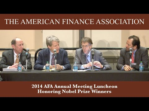 2014 AFA Annual Meeting Luncheon Honoring Nobel Prize Winners