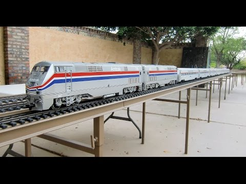 An Amtrak passenger train that we sold on eBay  –  Battery Powered / Radio Controlled