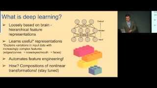 Intro to Deep Learning with Theano and OpenDeep by Markus Beissinger