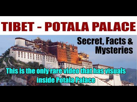 POTALA PALACE  (Inside of potala palace tibet)