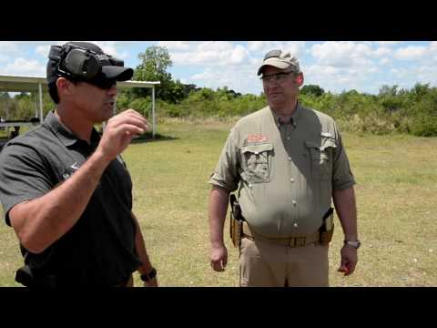 At the range with Special Ops legend Bob Keller of Gamut Resolutions