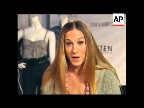 Sarah Jessica Parker unveils clothing line
