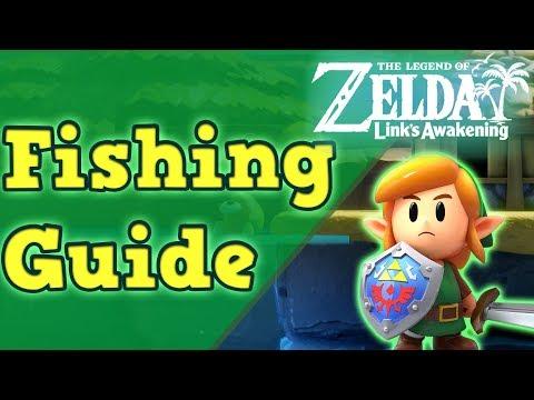 How Do You Catch Fish? | The Legend Of Zelda: Links Awakening (Remake)