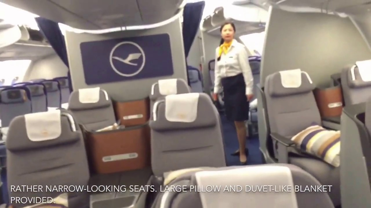 lufthansa a380 business class trip report fra to sin youtube. Black Bedroom Furniture Sets. Home Design Ideas