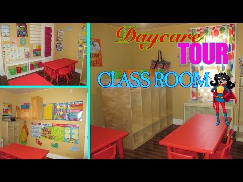 Daycare Tour: Crayola Classroom