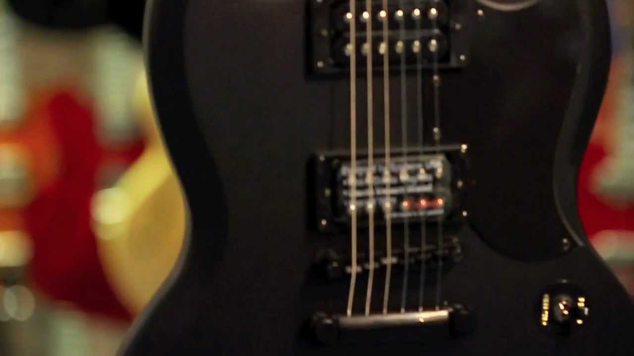 Epiphone Goth G400 Sg Guitar Quick Look Youtube Special G310 Wiring Diagram