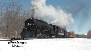 Back In Action!  Milwaukee Road Steam Locomotive 261