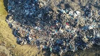 Wysypisko odpadów w okolicy uzdrowiska SOLANKI Inowrocław