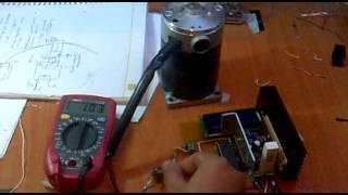 200 watt dc motor sürücü deneme-1