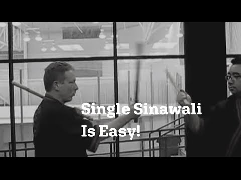 Modern arnis single sinawali