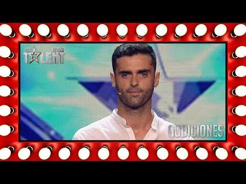 His Spanish charm hypnotizes the judges | Auditions 1 | Spain's Got Talent 2018