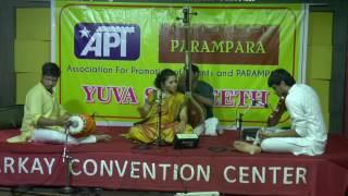 PARAMPARA-APT'S Yuva Sangeeth-Maalavika Sundar - Vocal