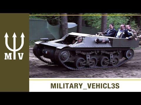 German WW2 Tank Supply Tractor (Munitionstransportkraftwagen)