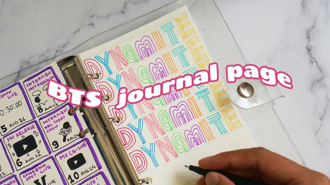 Awesome Bts Journal Ideas Without Pictures wallpapers to download for free greenvirals