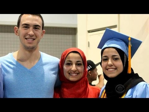 Thousands mourn death of 3 Muslim students