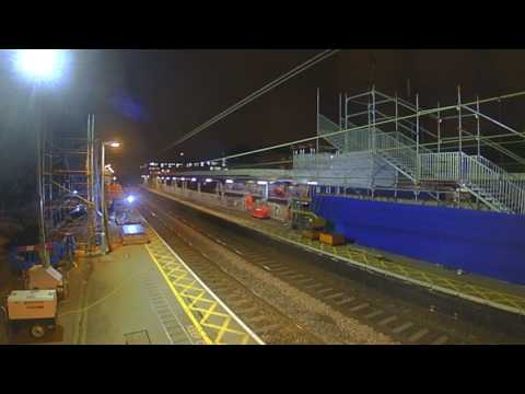 TfL Rail Station Improvements: Manor Park Station Time-lapse