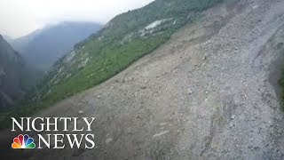 China Landslide: At Least 15 Dead, 140 Buried In Sichuan Mountain Village | NBC Nightly News