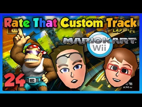 Mario Kart Wii - Rate That Custom Track #24 ~ Funky Donkey!