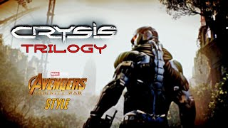 Crysis Trilogy Trailer With Avengers Infity War Style