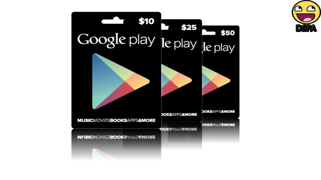 como canjear una tarjeta de regalo google play para