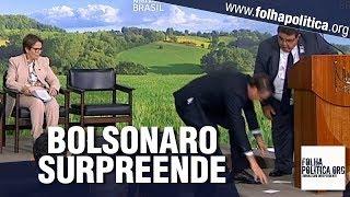 Bolsonaro é intensamente aplaudido após gesto de humildade e gentileza surpreendente