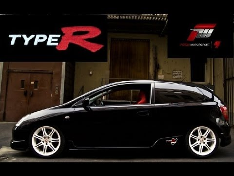 forza 4 civic type r ep3 2004 youtube. Black Bedroom Furniture Sets. Home Design Ideas