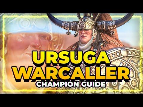 URSUGA WARCALLER Guide! | Top Tier Void Leggo! RAID Shadow Legends
