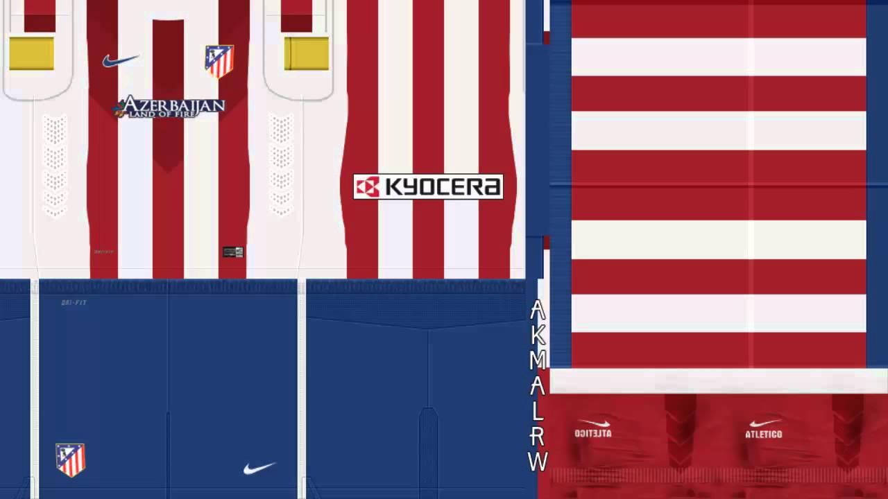 detailed look ed153 15713 Atletico de Madrid Kits 2014/15 FULL GDB+ Download Link