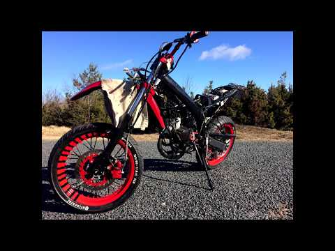 Yamaha Dt 86cc TPR project/tuning story