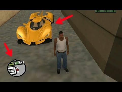 Secret Ferrari Car Location In GTA SA(hidden Place)