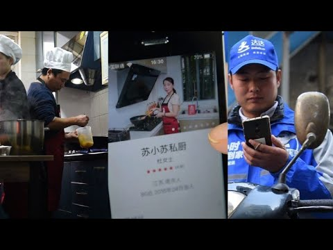 App delivery boom shakes up China food sector