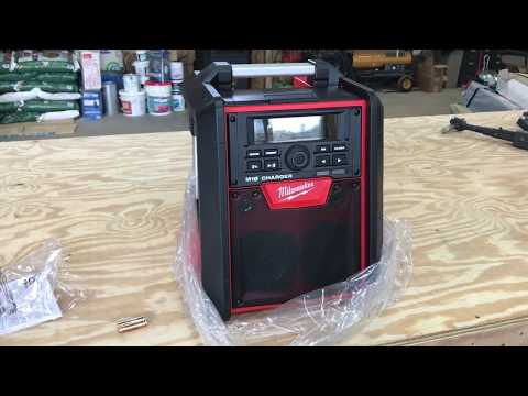 Milwaukee jobsite radio/charger review