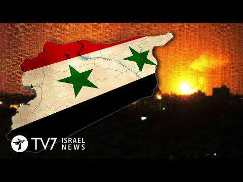 Damascus Outskirts Bombed; Iran Mil. Chief Claims Capacity To Destroy Israel - TV7 Israel News 17.03