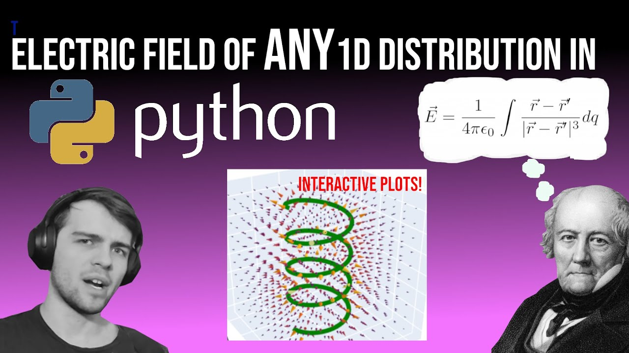Electric Field Computation in Python: No Pencil/Paper Required