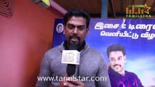 Saran At Muthukumar Wanted Audio & Trailer Launch